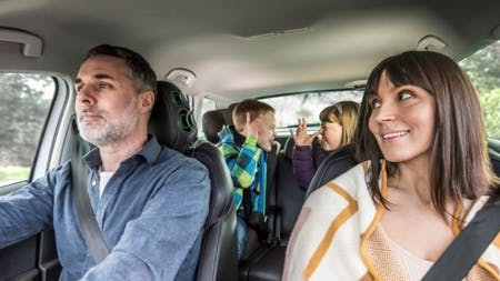 Peace at last: ŠKODA launches bicker-busting headrest to silence back-seat squabblers