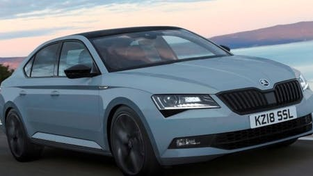 New ŠKODA SportLine Plus offers even more desirability for updated SUPERB range