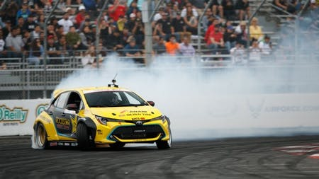 Toyota's New Auris Smokes the Opposition in Drifting Debut Victory