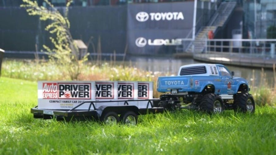 Driver Power gold awards for Prius, Aygo and Verso
