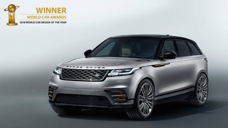 Range Rover Velar Named Most Beautiful Car In The World