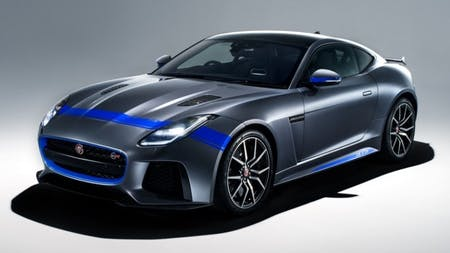 New Graphics Add Visual Muscle To 200mph F-TYPE SVR