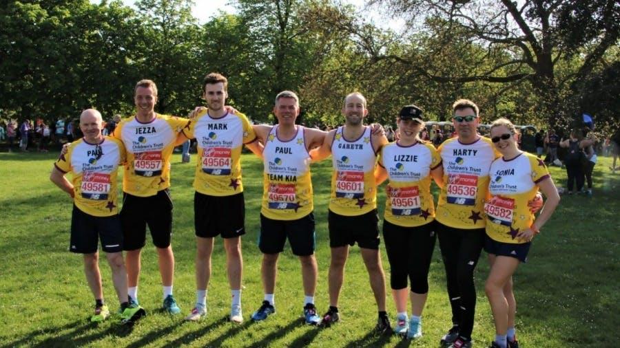 Team KIA Raise £50,000 Running London Marathon