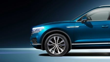 Leading the way - Volkswagen presents the new Touareg
