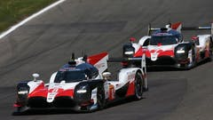 Spa Clean-Sweep for Toyota Gazoo Racing