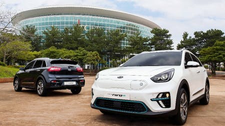 KIA Reveals First Images of All-Electric Niro
