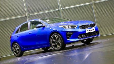 All-New KIA c'eed Makes UK Debut at London Motor Show