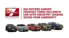 KIA Motors Europe Produces Three Millionth Car With Industry-Leading Seven-Year Warranty
