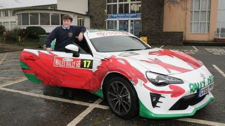Toyota and Dayinsure Wales Rally GB Encourage Young Design Talent