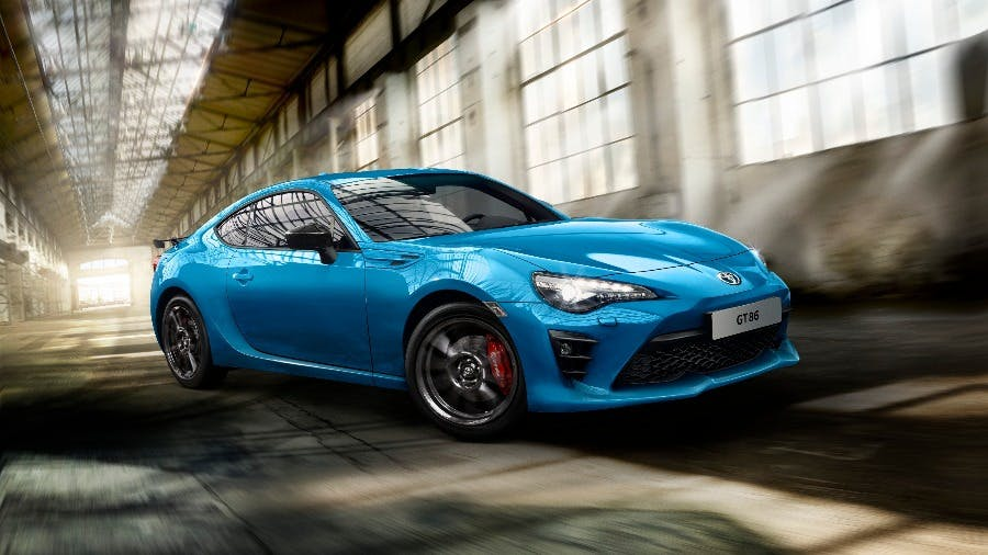 Red Hot and Blue: Toyota Introduces the New GT86 Club Series Blue Edition