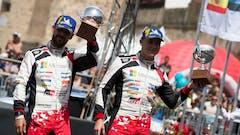 Lappi Excels with Podium Finish for Toyota on Rally Italia Sardegna