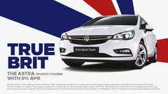 Vauxhall Launches 'True Brit' Astra Campaign