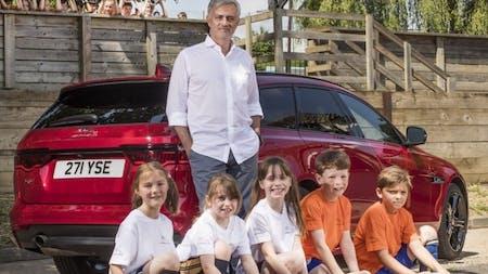 Jaguar Takes Jose Mourinho Back To School Ahead Of World Cup