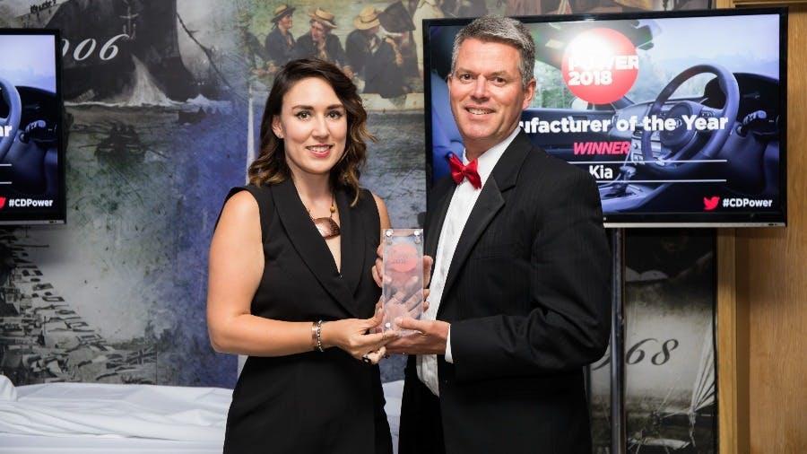 KIA Wins Car Dealer Power Manufacturer Award for Third Successive Year