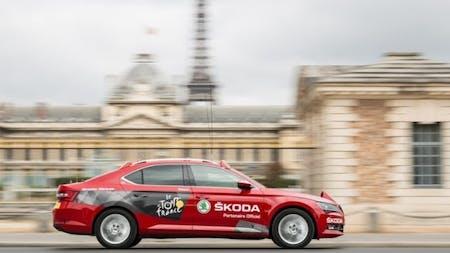 ŠKODA Official Partner of the Tour de France