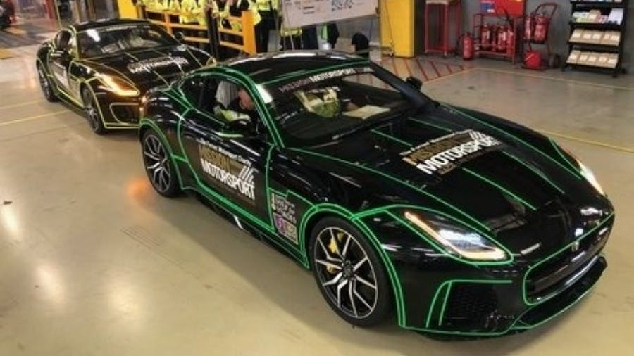 Jaguar Land Rover Donates Two F-TYPES To Transform The Lives Of Military Veterans