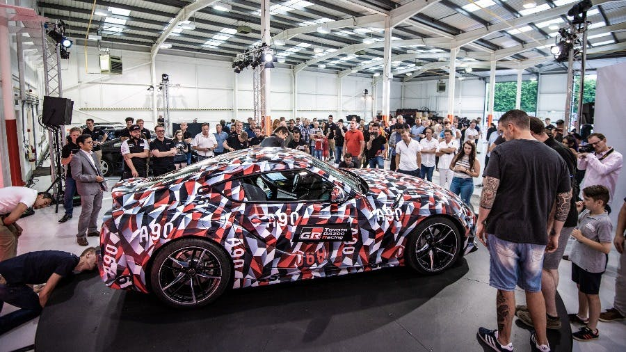 Five Generations of Toyota Supra Together For First Time