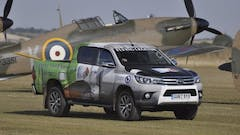 Toyota Hilux continues its support for Flying Legends