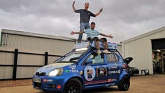 Fensport Duo to Drive a Toyota Yaris to Japan in Aid of BBC Children in Need