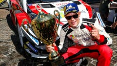 Tanak Makes It Two in a Row for Toyota on Rallye Deutschland