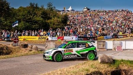 ADAC Rallye Deutschland: SKODA Trio Tops WRC