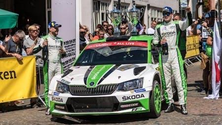 ADAC Rallye Deutschland: Double Victory in WRC 2 For SKODA