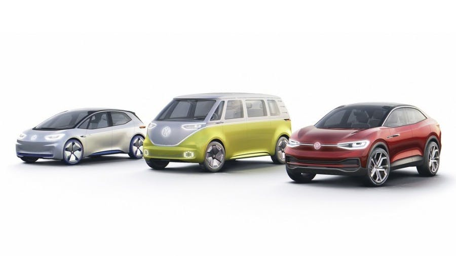 Volkswagen Plans to Build 10 Million E-Cars in the First Wave.