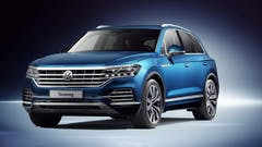 New Touareg receives five-star top rating in Euro NCAP