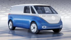Volkswagen shows the future of electric commercial vans