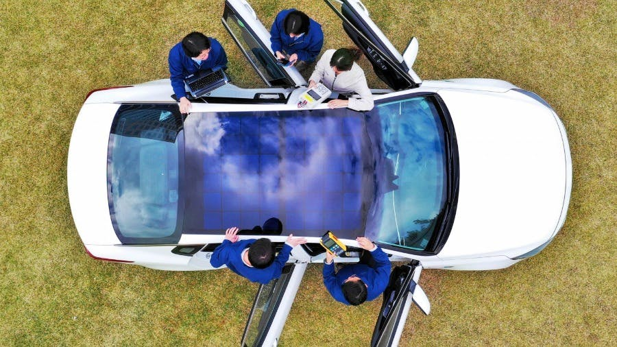 KIA Involved in Reveal of Solar Charging System Technology to Power Future Eco-Friendly Vehicles