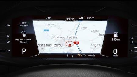 ŠKODA dials into the future with new Virtual Cockpit option