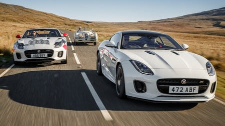F-TYPE Rally Cars Celebrate 70 Years Of Sports Car Heritage