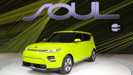 All-New Kia Soul EV Electrifies Los Angeles at World Debut