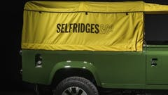 One-Off Land Rover Defender Hits The 'Designer Street' In Selfridges