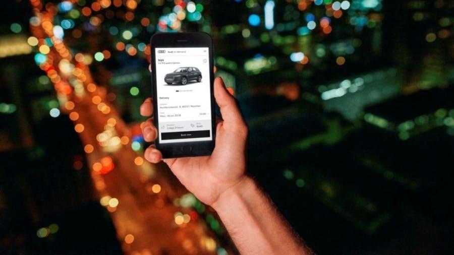 Introducing Audi on demand