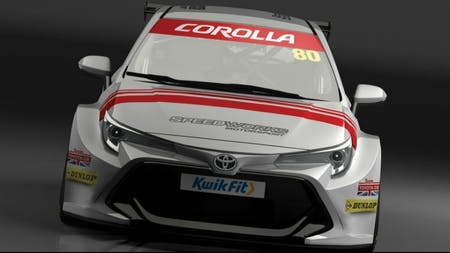 Toyota Returns to the British Touring Car