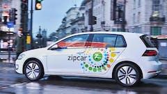Volkswagen e-Golf Zipcar UK Fleets Travels over 250,000 electric miles