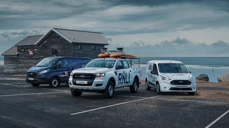 Ford announce partnership with RNLI