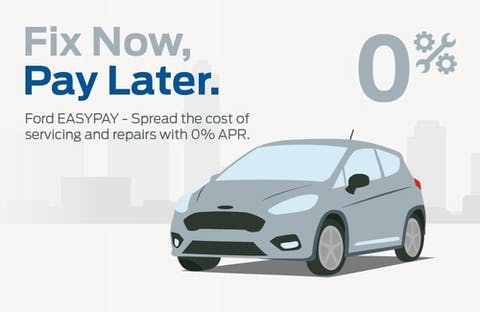 Ford Fix Now, Pay Later with 0% APR