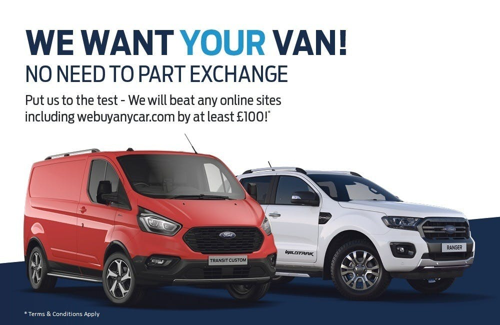 We Want Your Ford Commercial Vehicle
