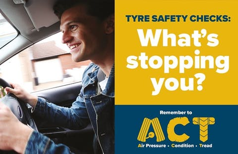 Free Tyre Safety Check for your Ford as part of Tyre Safety Month