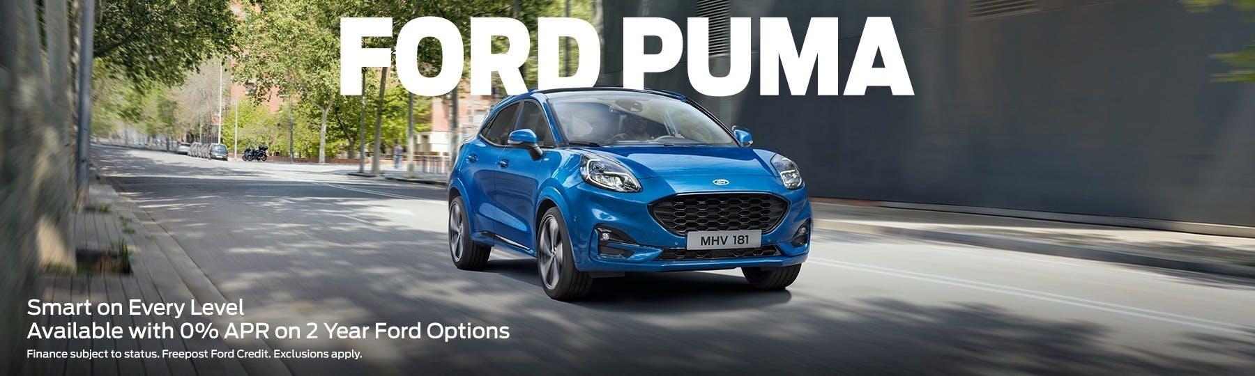 ford Puma New Car Offer