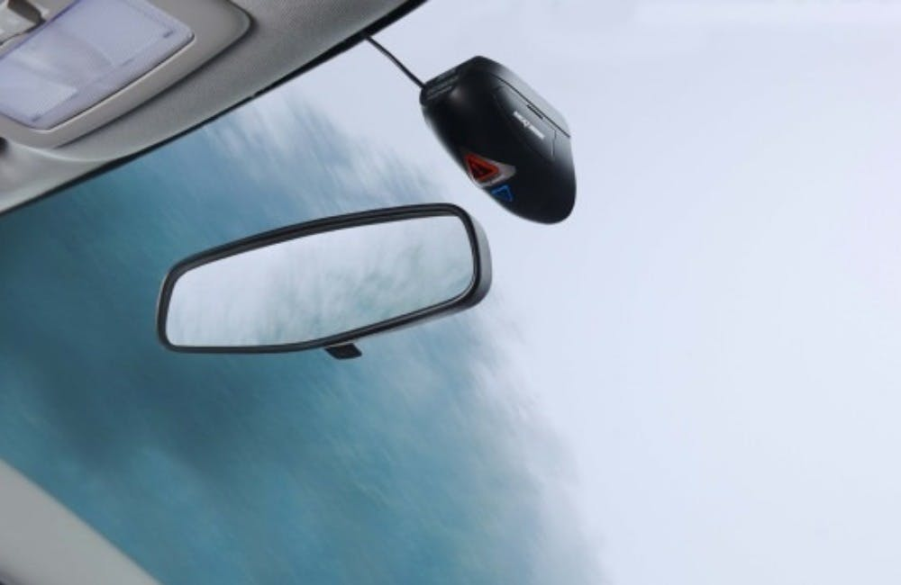 Integrated Dash Cam