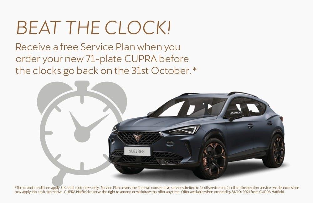 Beat the Clock - CUPRA