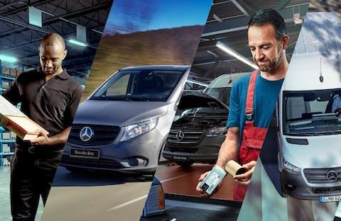 Pay As You Go Servicing Mercedes-Benz Vans