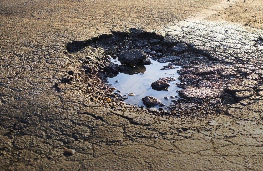 Free Pothole Damage Check